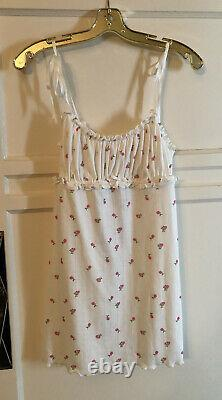 Victoria Secret X For Love Of Lemons Blossom Pointelle Dress NWT XS Or Small